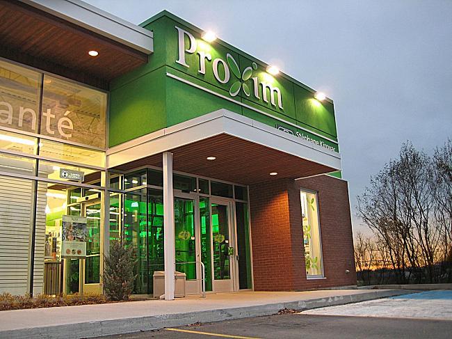Proxim fait confiance au Groupe Belmon pour la rénovation de leurs pharmacies